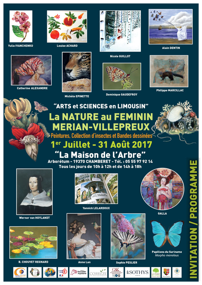 affiche expo Chamberet